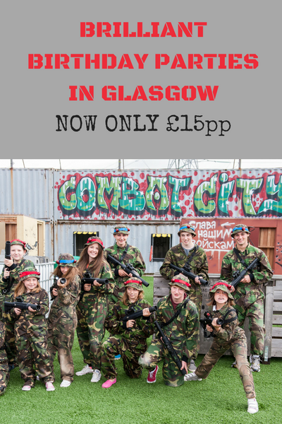 Glasgow Tactical Laser Tag Birthday Parties
