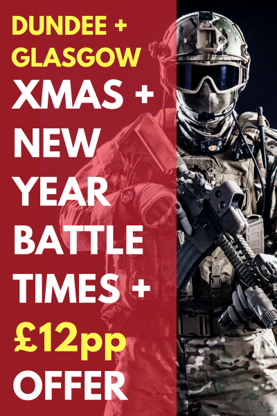 Tactical Laser Tag Glasgow - Dundee